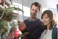 <p>Kathy (Kellie Martin) is struggling with the holidays and memories of her late husband, so she tries to avoid her past Christmas traditions. But she starts to open her heart again after meeting a shop owner (Cameron Mathison) who gives her an ornament that's meant to remind her of hope. As the two get closer, Kathy tries to find a balance between honoring her memories and looking toward her future.<br></p>