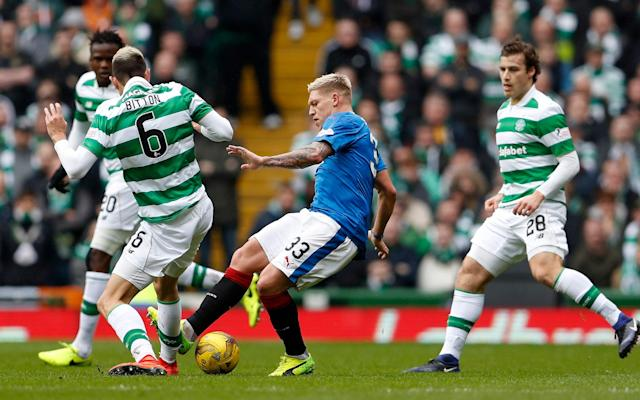 <span>Martyn Waghorn says Rangers have to impose themselves on Celtic at Ibrox</span> <span>Credit: Action Images/Lee Smith  </span>