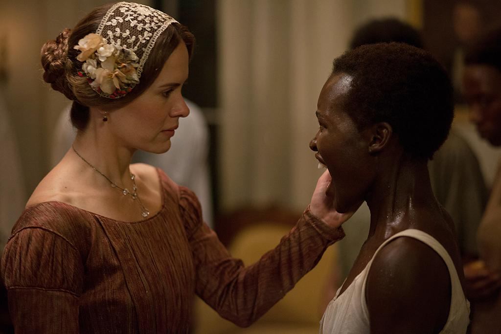 "Sarah Paulson and Lupita Nyong'o in Fox Searchlight's ""12 Years A Slave"" - 2013"