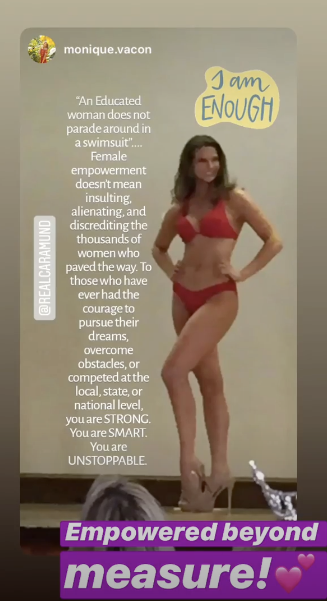 The Miss America announcement sparked backlash. (Photo: Instagram)