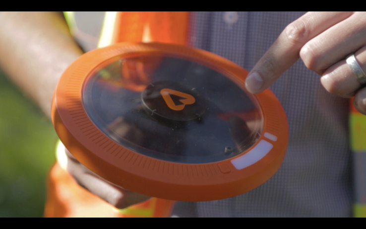 Arable's Pulsepod helps vineyards track conditions effecting their plants on the ground.