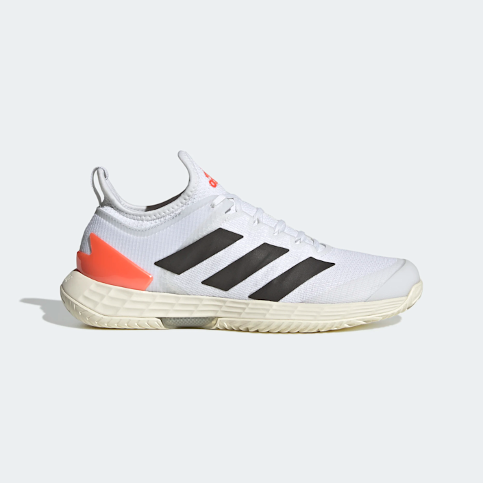 """<br><br><strong>Adidas</strong> ADIZERO UBERSONIC 4 TOKYO TENNIS SHOES, $, available at <a href=""""https://go.skimresources.com/?id=30283X879131&url=https%3A%2F%2Fwww.adidas.com%2Fus%2Fadizero-ubersonic-4-tokyo-tennis-shoes%2FFZ4883.html"""" rel=""""nofollow noopener"""" target=""""_blank"""" data-ylk=""""slk:Adidas"""" class=""""link rapid-noclick-resp"""">Adidas</a>"""