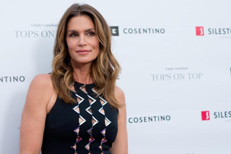 2a41389e1409d Cindy Crawford and daughter Kaia are twinning so hard in their latest Insta  selfie