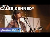 """<p>Caleb's got it all at only 16 — determination, confidence, style and, above all, talent. After performing an original country song in the audition round, Caleb went on to stun the judges singing """"Midnight River"""" by The Allman Brothers and even looked perfectly comfortable belting out a duet with <strong>Jason Aldean</strong>. We can only imagine what he'll do next!</p><p><a href=""""https://www.youtube.com/watch?v=JbA8lOCgOjM"""" rel=""""nofollow noopener"""" target=""""_blank"""" data-ylk=""""slk:See the original post on Youtube"""" class=""""link rapid-noclick-resp"""">See the original post on Youtube</a></p>"""