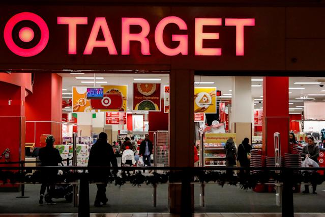 A Target store is seen in the Brooklyn borough of New York, U.S., November 14, 2017. REUTERS/Brendan McDermid/File Photo