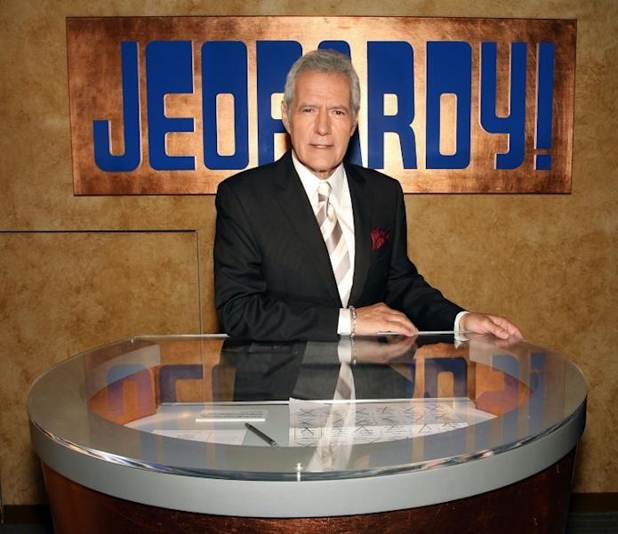"""Alex Trebek, the long-time host of popular US game show """"Jeopardy!"""""""