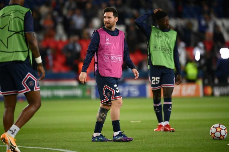 Lionel Messi has recovered from a knee injury to make his fourth Paris Saint-Germain appearance (AFP/FRANCK FIFE)