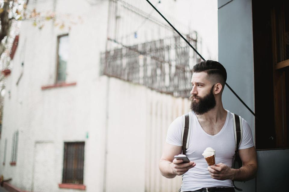 """<p>Keto ice cream shares a few similarities with non-keto ice cream. It's creamy and thick. It's delicious. And it's popular. But that's sort of where the similarities end. <a href=""""https://www.menshealth.com/nutrition/a19530409/ketogenic-ketosis-diet-for-beginners/"""" rel=""""nofollow noopener"""" target=""""_blank"""" data-ylk=""""slk:Keto"""" class=""""link rapid-noclick-resp"""">Keto</a> ice cream tends to be low in carbs and sugar, which is the complete opposite end of the nutritional spectrum compared to <a href=""""https://www.menshealth.com/nutrition/a28261495/the-best-healthy-ice-creams/"""" rel=""""nofollow noopener"""" target=""""_blank"""" data-ylk=""""slk:non-keto ice cream"""" class=""""link rapid-noclick-resp"""">non-keto ice cream</a>.</p><p>So how, exactly, do keto ice cream companies do this?</p><p>""""Instead of sweetening these ice creams with sugar like traditional ice cream, keto ice cream brands use zero/low-calorie sweeteners like stevia, monkfruit, and/or sugar alcohols (i.e. erythritol),"""" says <a href=""""https://shapedbycharlotte.com/"""" rel=""""nofollow noopener"""" target=""""_blank"""" data-ylk=""""slk:Charlotte Martin, M.S., R.D.N"""" class=""""link rapid-noclick-resp"""">Charlotte Martin, M.S., R.D.N</a>. So, it won't spike blood sugar or kick you out of ketosis with an overload in sugar grams and net carbs. </p><p>This said, not all keto ice creams are created equal. In general, look for a product that has fewer than 10 grams of net carbs per serving, but with a goal of closer to 5 grams, she says. </p><p>Beyond taste (yes, it should taste good!), you should read the ingredient list to make sure you're choosing a product with the preferred measurements, the right types of sweeteners (and lack of harmful ones), as well as some fiber.</p><p>""""Be sure to pay attention to the fiber source and sweetener used in the ice cream if you have a history of digestive issues with fibers and sweeteners,"""" she says. """"Some fibers, like chicory root, and sugar alcohols, like xylitol, aren't well-tolerated by many individuals, and can cause"""