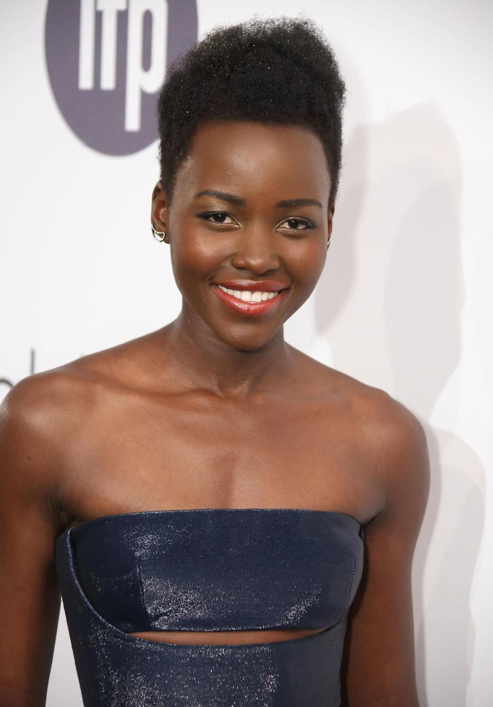<p>For her turn in <em>12 Years a Slave</em>, Nyong'o won the 2013 Best Supporting Actress Oscar becoming the first African actress to win the award and the first Kenyan actress to win an Oscar of any kind. It also happened to catapult her to the top of every magazine in the world's 'best-dressed' and 'most beautiful' lists, where she has remained ever since.</p>