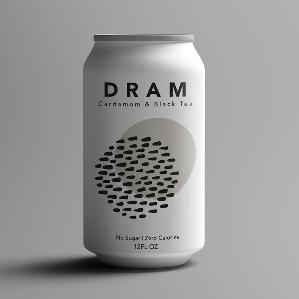 """<p><strong>DRAM Apothecary</strong></p><p>dramapothecary.com</p><p><strong>$22.00</strong></p><p><a href=""""https://dramapothecary.com/product/black-cardamom-sparkling-water-12-pack/"""" rel=""""nofollow noopener"""" target=""""_blank"""" data-ylk=""""slk:Shop Now"""" class=""""link rapid-noclick-resp"""">Shop Now</a></p><p>This ready-to-sip nonalcoholic canned beverage from Colorado-based brand DRAM Apothecary is made from organic herbal bitters, cardamom, and black tea with just a touch of black pepper. Most people like sipping these bad boys chilled straight from the can, but we've heard they also make a mean mixer. </p>"""