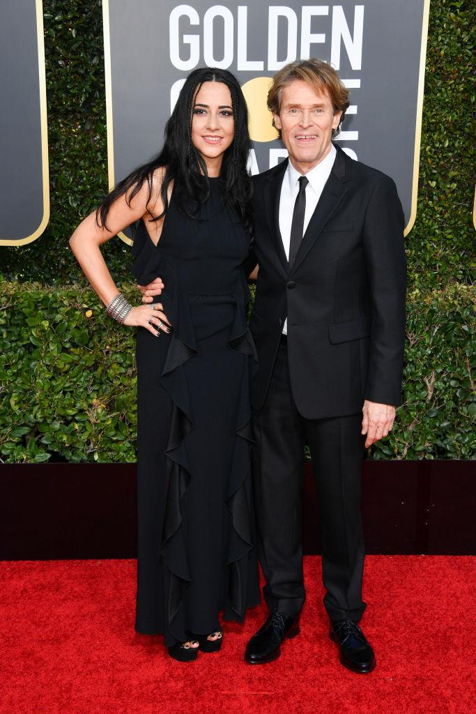<p>Giada Colagrande and Willem Dafoe attend the 76th Annual Golden Globe Awards at the Beverly Hilton Hotel in Beverly Hills, Calif., on Jan. 6, 2019. (Photo: Getty Images) </p>