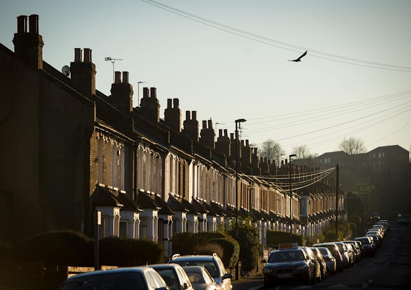 Residential houses in south east London. Photo: Dominic Lipinski/PA Wire/PA Images