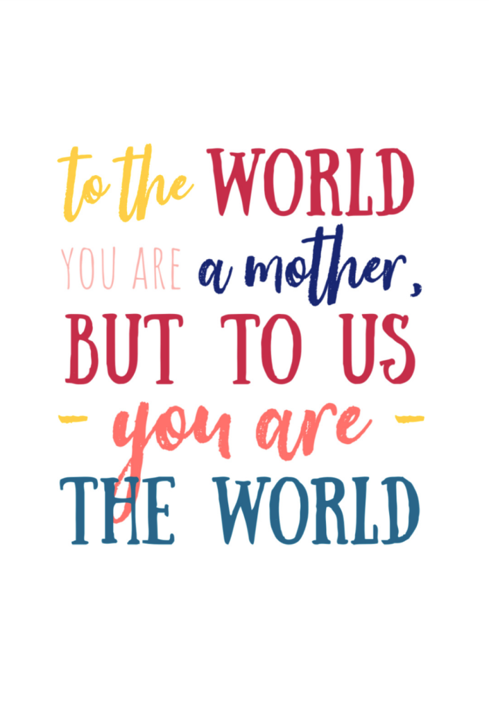 """<p>Remind Mom how big a role she plays in your life with this sweet and colorful card.</p><p><em><strong>Get the printable at <a href=""""https://www.sixcleversisters.com/free-printable-square-mothers-day-cards/"""" rel=""""nofollow noopener"""" target=""""_blank"""" data-ylk=""""slk:Six Clever Sisters"""" class=""""link rapid-noclick-resp"""">Six Clever Sisters</a>.</strong></em></p>"""