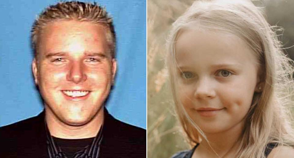 Sophie Long, 10, pictured with her dad Michael.