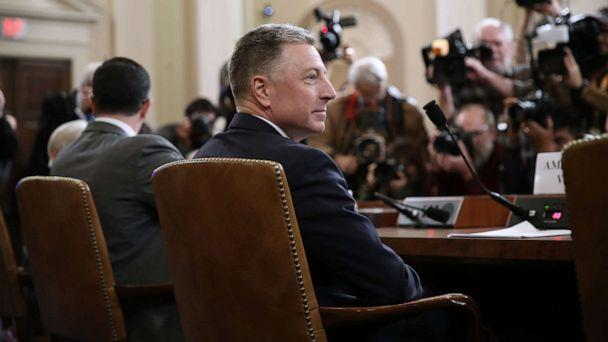 PHOTO: Former State Department special envoy to Ukraine Kurt Volker waits to testify before the House Intelligence Committee on Capitol Hill, Nov. 19, 2019. (Drew Angerer/Getty Images)