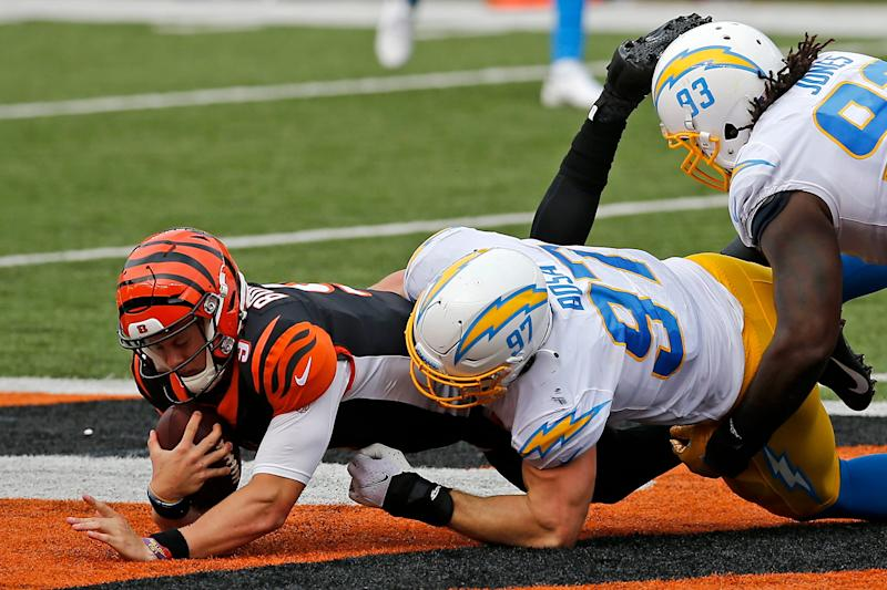 Bengals have allowed third-most pressures in NFL so far