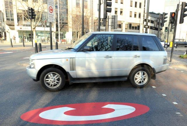 Congestion charge to rise for gas-guzzlers