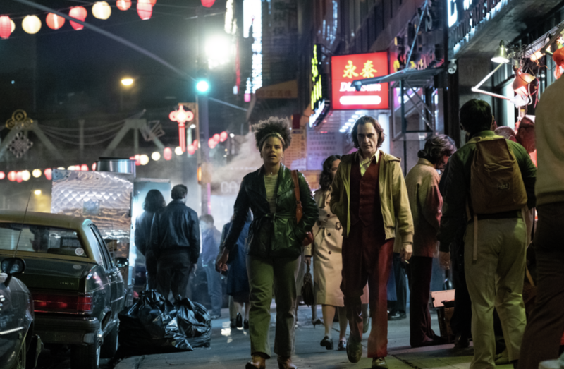 Zazie Beetz and Joaquin Phoenix in 'Joker.' (Photo: DC/Warner Bros.)