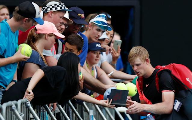 "Having beaten Andreas Seppi in four sets, Britain's new tennis hero Kyle Edmund was asked if he can win the Australian Open. ""You have to believe it,"" he replied. ""That's why I'm in the quarter-finals. Because every time I step on the court, I believe I'm going to win."" What a long way Edmund has come since his first hesitant steps into professional tennis. Selected for his first Davis Cup squad in 2014, he was still a callow teenager, so shy that his team-mates often ordered for him in restaurants. At that stage, his critics said he didn't have the nerve for this game. How wrong they were. Today Edmund cuts an imposing figure, standing well over 6ft with shoulders like a second row's. He has also shown a heart as big as Shergar's over the past week, coming from behind in three of his four victories to date. We don't know what will happen when he faces Grigor Dimitrov in Tuesday's quarter-final. But if he loses, it won't be on account of the occasion. By beating Seppi, Edmund became the first Englishman to reach the last eight of the Australian Open since John Lloyd in 1985. He also ensured a career-high ranking of around No 35 when the next chart is published. Were he to overcome Dimitrov as well, he would climb into the mid-20s, poised to overtake Andy Murray as British No 1 in a matter of weeks. Is that a feasible prospect? At the beginning of this tournament, Edmund and Dimitrov were living in different worlds. One of them was an international celebrity with a pop-star girlfriend, high-profile enough for Nike to prepare him a unique outfit to wear at this event. Edmund will now face Dimitrov for a place in the semi-finals Credit: AFP The other was ""Our Kyle"", the understated boy next door from Beverley in Yorkshire, who stood at No 49 in the world and had only ever won a single main-draw match at this event. We knew he could stand toe-to-toe with the big boys, because he gave several of them – including Rafael Nadal and Milos Raonic – a real fright last year. What he wasn't doing was getting himself over the line. That has changed since he signed the veteran Swedish coach Fredrik Rosengren in the autumn, and began working through the mental challenges of this head-scrambling sport. As Rosengren told him, ""You will not win every time but you have to go out there and get it, because these guys will not give it to you for free."" After his superb display against Seppi, Edmund was asked whether he had ever doubted that he would put the ""nearly-man"" tag behind him. His answer was typically level-headed, as befits a player who - ever since his early teens – has been able to shrug off setbacks more easily than his peers. ""I have known for a while that my game is dangerous, and it can beat a lot of players,"" he said. ""I just had to learn for myself where I hadn't been getting it right. As you mature you become better and wiser and more experienced. So naturally you play a bit better."" We can identify two kinds of self-belief in tennis. There's the confidence you take on the court on any given day, and which has grown visibly for Edmund over the last few weeks. And then there's the long-term faith that you're on the right path – an area where he has never wavered. ""Not a surprise,"" said Nadal, when asked about Edmund's progress to the quarter-finals. ""It's the normal thing. Was a little bit more surprising for me last year he lost a lot of close matches, I think. But, no, I really believe in his potential. He has a huge serve, huge forehand, and he hit very strong the ball, no? So I really think he gonna have a great year."" Edmund has known for a while he has a dangerous game Credit: AFP Despite all Edmund's gifts, the match was an awkward assignment. Seppi is something of a Melbourne specialist, having beaten Roger Federer here three years ago and won 18 matches overall. He is a wily craftsman who - like a judoka - uses his opponent's strength against him, deflecting the ball as much as hitting it. In the first set, Seppi kept correctly guessing where Edmund's howitzer forehands would land, and bunting them back into space for winners. Edmund was understandably anxious, and coughed up no fewer than 23 errors in the first set, more than half his total for the match. But he refocused his mind after those opening exchanges and decided to trust his backhand more, which made his patterns of play less predictable. After an early exchange of breaks in the second set, Edmund spent the rest of the afternoon in predatory mode, prowling the court like some ginger-haired velociraptor. He was bullying Seppi with his sheer weight of shot, and eventually completed his 6-7, 7-5, 6-2, 6-3 victory in 2hr 57min. The statistics show that Edmund has hit many more clean winners at this stage of the tournament than anyone else. But this is a double-edged sword, because he has also spent more time on court than anyone else: 17 sets to date, and a fraction under 12 hours. Can he still win the tournament after such a demanding schedule? According to his coach, Edmund remains in pristine physical shape. ""It's all about the mindset,"" said Rosengren. ""He is not that tired. You have to play seven matches of best-of-five sets if you want to win this tournament. If you're not prepared for that, why come?"""