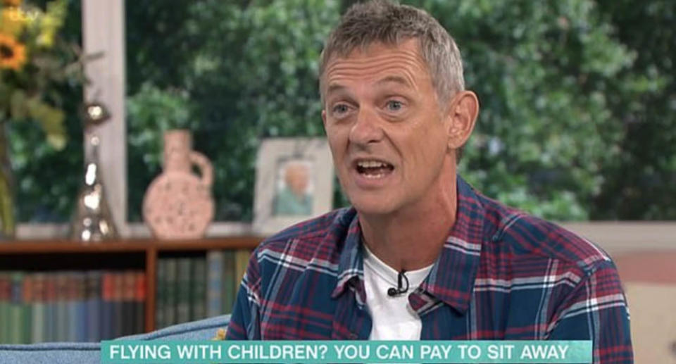 TV presenter Matthew Wright appearing on breakfast show This Morning. Source: This Morning