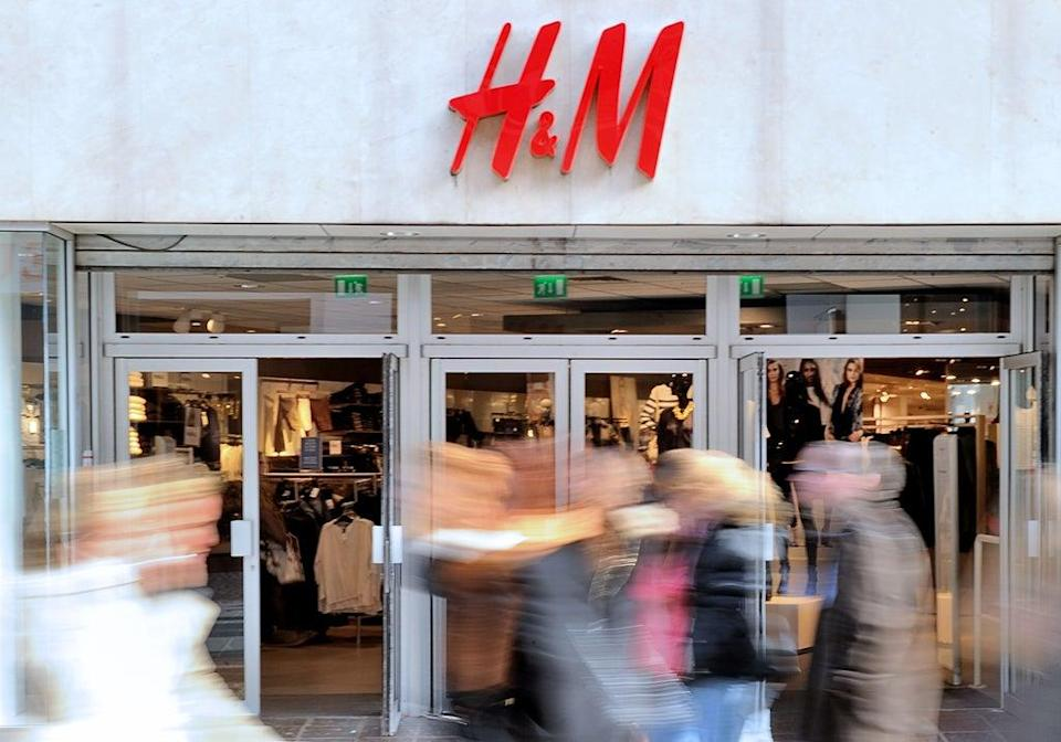 File image: H&M clothing store in the French northern city of Lille (AFP via Getty Images)