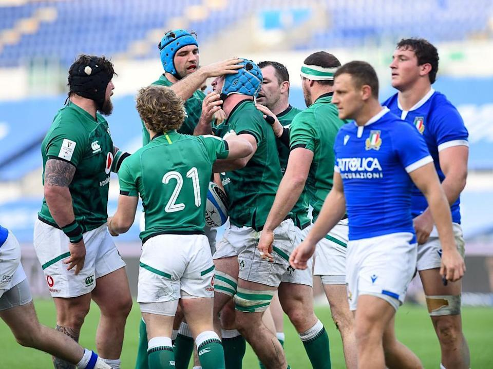 Italy suffered another heavy defeat, this time against an out-of-form Ireland.