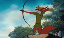 """<p>If as a child you found yourself strangely attracted to the fox at the center of Disney's animal-centric retelling of the folk tale, <a href=""""http://www.xojane.com/fun/my-first-love-was-disneys-robin-hood-and-five-other-animated-crush-confessions"""" rel=""""nofollow noopener"""" target=""""_blank"""" data-ylk=""""slk:you are not alone"""" class=""""link rapid-noclick-resp"""">you are not alone</a>. That silky British voice — c'mon! Many attempts have been made to capture the spirit of the outlaw hero who stole from the rich to give to the poor, but none have endured quite like this alluring Disney take.</p>"""