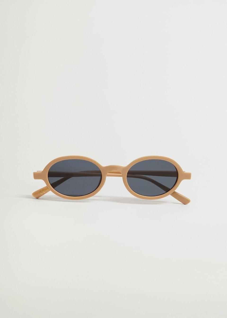 <p>These stylish <span>Mango Rounded Sunglasses</span> ($30) are a great deal.</p>