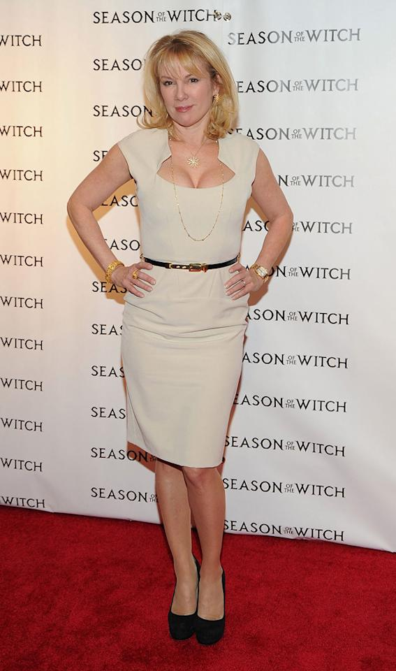 "Ramona Singer at the New York City premiere of <a href=""http://movies.yahoo.com/movie/1810055815/info"">Season of the Witch</a> on January 4, 2010."
