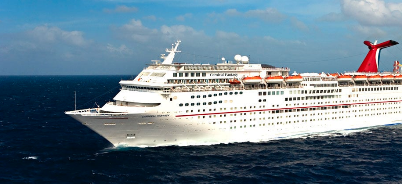 The Carnival Fantasy (Carnival Cruise Line website)