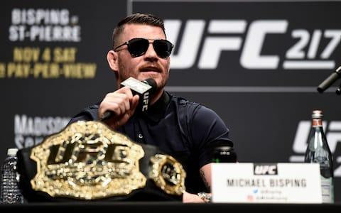 <span>Michael Bisping is confident</span>