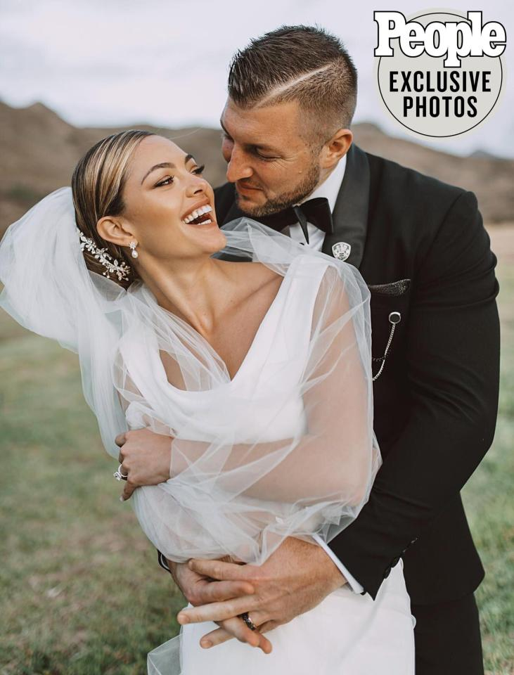 """After meeting in 2018, <a href=""""https://people.com/sports/tim-tebow-demi-leigh-nel-peters-inside-their-whirlwind-romance/"""">Tim Tebow</a>and fiancée<a href=""""https://people.com/sports/who-is-tim-tebow-fiancee-demi-leigh-nel-peters/"""">Demi-Leigh Nel-Peters</a> tied the knot on January 20 in an intimate sunset ceremony at <a href=""""http://www.laparis.co.za/"""">La Paris Estate</a>in Cape Town, South Africa.  His connection with Nel-Peters """"was instant,"""" Tebow, 32, told PEOPLE. """"I knew that she was a very special person. And after the initial attraction, we realized that we both share the same faith, which was so important to me."""""""