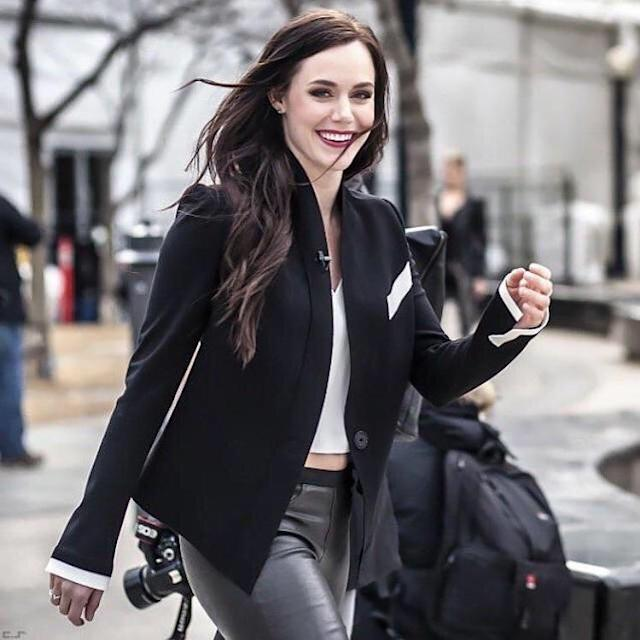 <p>Tessa and Scott won their first gold medal together at the 2010 Games in Vancouver and followed it up with two silver medals in Sochi. (Photo via Instagram/tessavirtue17) </p>