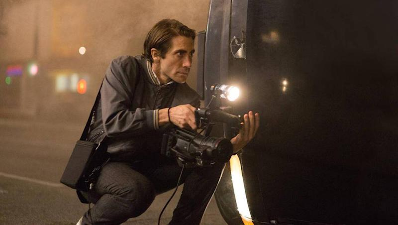 2014 thriller 'Nightcrawler' stars Gyllenhaal as Lou Bloom, who records violence late at night in LA