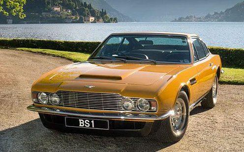 1970 Aston Martin DBS used in the Persuaders TV series - Alamy