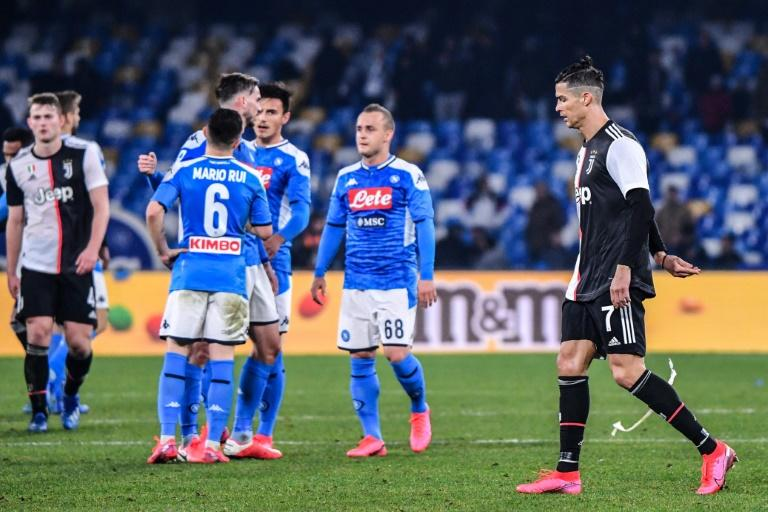 Napoli won for the first time since December 22 with victory over Cristiano Ronaldo's Juventus