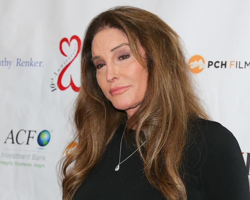 Caitlyn Jenner attends the Open Hearts Foundation 10th Anniversary Gala at SLS Hotel at Beverly Hills on February 15, 2020 in Los Angeles, California. (Photo by Paul Archuleta/Getty Images)