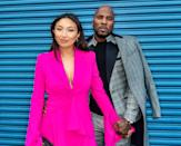 """<p>One year after getting engaged, <a href=""""https://www.vogue.com/slideshow/jeezy-and-jeannie-mai-intimate-wedding-ceremony"""" class=""""link rapid-noclick-resp"""" rel=""""nofollow noopener"""" target=""""_blank"""" data-ylk=""""slk:the duo wed in a gorgeous ceremony"""">the duo wed in a gorgeous ceremony</a> at their home in Atlanta in March. They originally had plans to tie the knot at Lake Como in Italy or in the South of France, but their plans changed due to the COVID-19 pandemic. """"After Jeezy's mother unexpectedly passed, we quickly learned that life is too short,"""" Jeannie told <strong>Vogue</strong>. """"And at the end of the day, Jeezy and I really just wanted to become husband and wife. So we decided to turn our original <a class=""""link rapid-noclick-resp"""" href=""""https://www.popsugar.com/Wedding"""" rel=""""nofollow noopener"""" target=""""_blank"""" data-ylk=""""slk:wedding"""">wedding</a> into a mini-mony, where we exchanged our vows in front of our immediate family and a few close friends.""""</p>"""