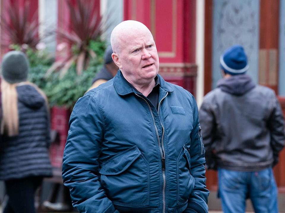 Steve McFadden as Phil Mitchell in EastEnders (BBC/Kieron McCarron/Jack Barnes)