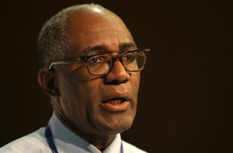 Trevor Phillips, Chair of the Equality and Human Rights Commission, speaks at the Fabian Society conference 'The Equality Summit', at the TUC Congress House, London. (Photo by Dominic Lipinski - PA Images/PA Images via Getty Images)