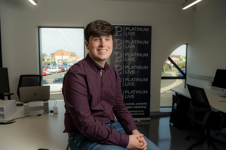 Ollie Hodgson launched his own events and communications company in March 2020. (Tom Kay)