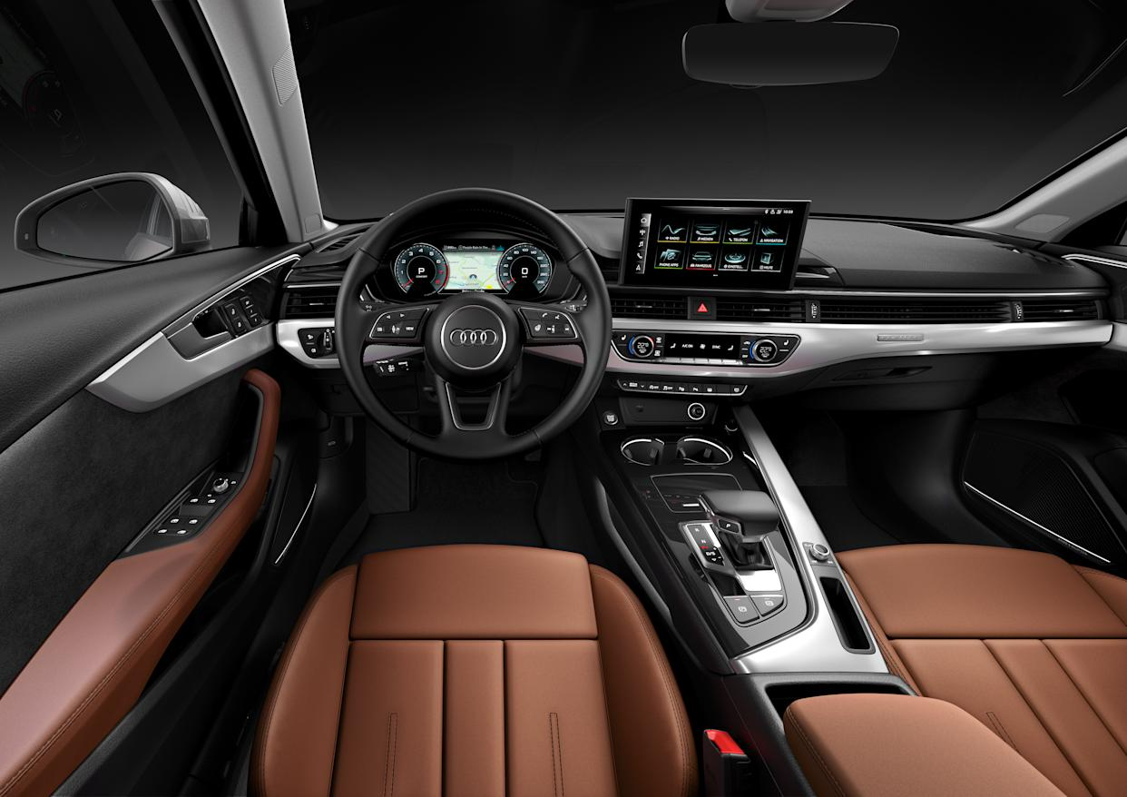 A new infotainment system features a wider screen than before