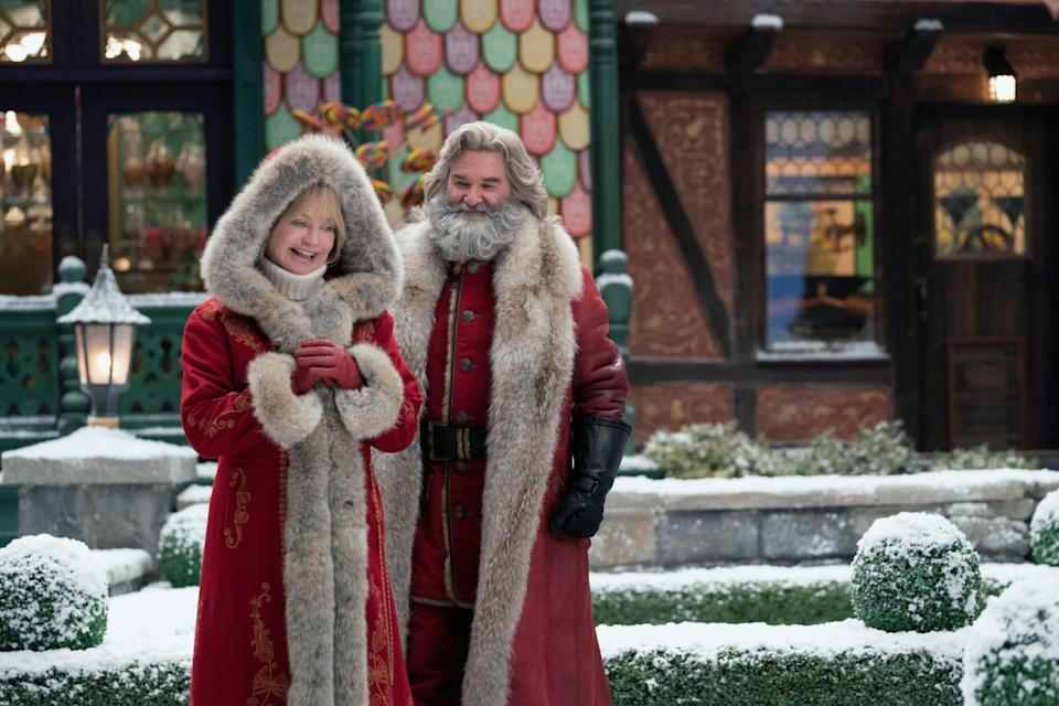 Kurt Russell is back as Santa Claus and his real life partner, Goldie Hawn, plays Mrs. Clause in this Netflix Originals sequel. And guess what? Christmas needs to be saved yet again!