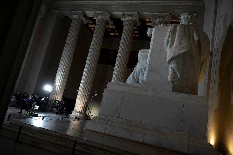 Many consider Abraham Lincoln the greatest US president (AFP Photo/JIM WATSON)