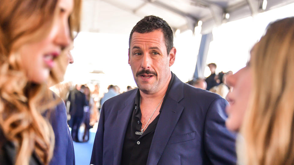 Adam Sandler attends the Film Independent Spirit Awards on February 08, 2020. (Photo by George Pimentel/Getty Images)