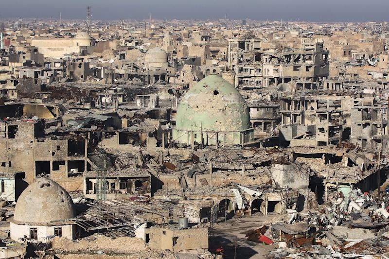 Mosul's Old City remains devastated months after Iraqi forces seized the country's second city from Islamic State group jihadists (AFP Photo/AHMAD AL-RUBAYE)