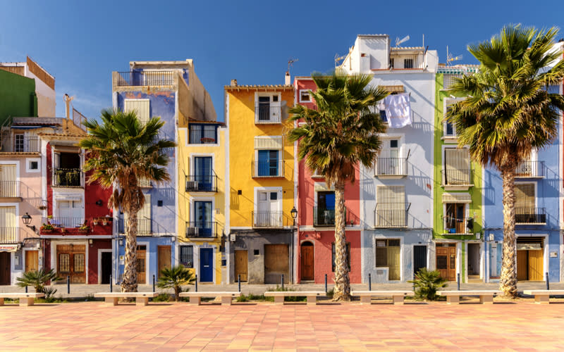 <p>The Spanish port city of Alicante comes in at fourth place thanks to its bustling old town, social media-worthy streets and buzzy nightlife. What more could you want from a getaway? Other than a sunkissed tan of course… <em>[Photo: Getty]</em> </p>