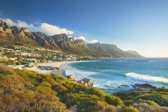 Twelve Apostles mountain in Camps Bay, near Cape Town, South Africa (istock)