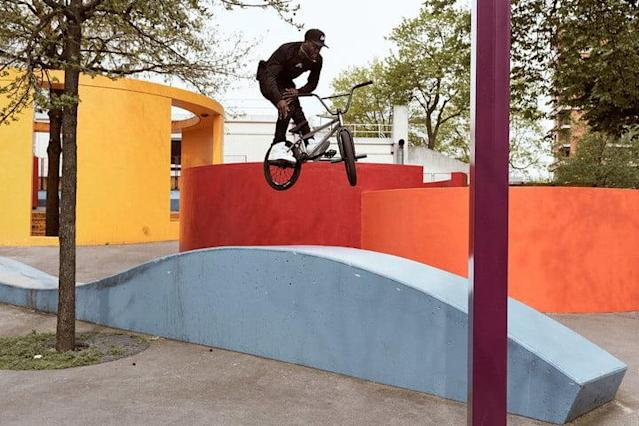 The fifth installment of Nigel Sylvester's Go series takes viewers on a fun-filled adventure through London and Paris. The video represents a return to form for the pro BMX rider, with a renewed focus on the bike.