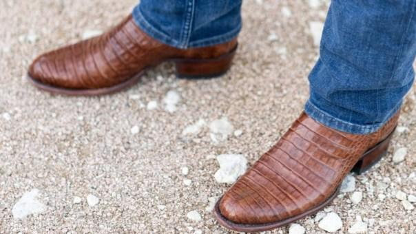 These stylish cowboy boots from Tecovas will make a statement in Manhattan and the Bay Area. And in Austin, they'll fit right in. Photo courtesy of Tecovas